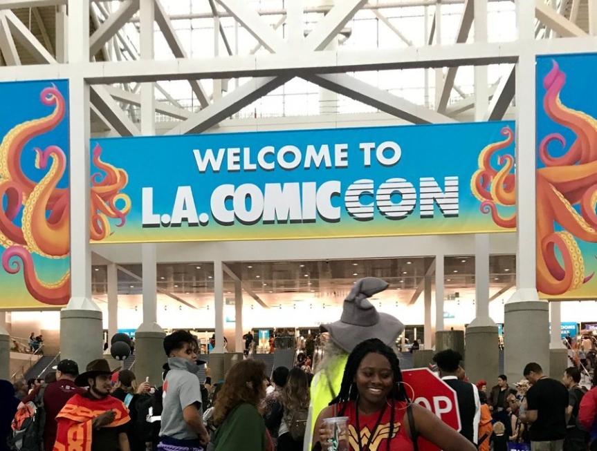 Follow Me Through Los Angeles ComicCon